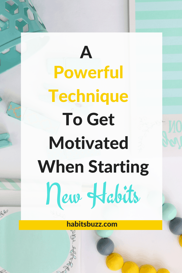 Do you want to start better habits, but struggle to be consistent and be motivated? What you need is not motivation, but this.