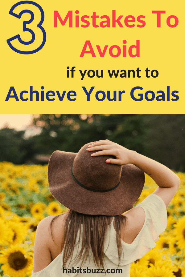 It is by setting goals you determine the direction your life takes. Here is an article on how to avoid these mistakes and achieve your goals. #goalgetters #goalsforlife