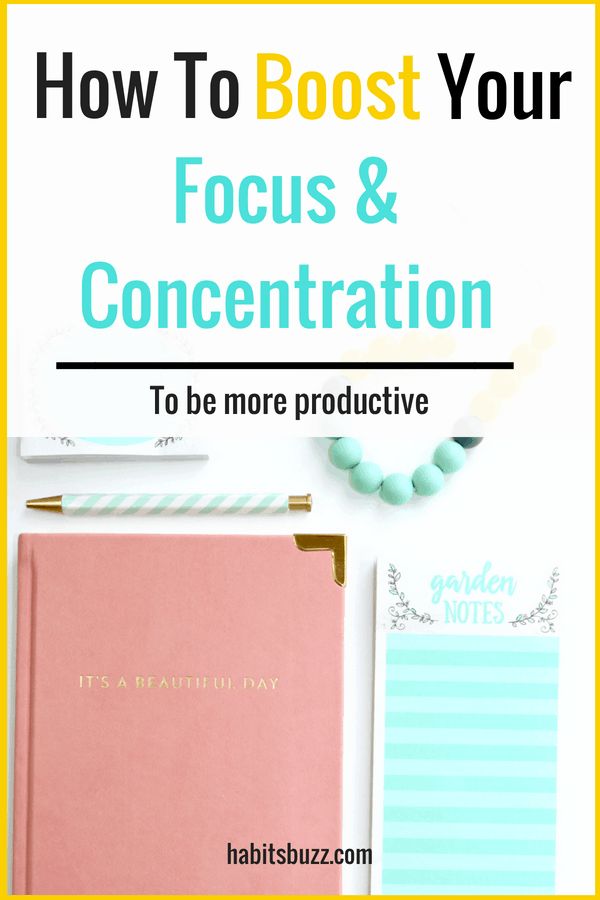 If you want to increase your productivity, you also should be able to stay focused. Learn 7 proven ways to improve focus and concentration.