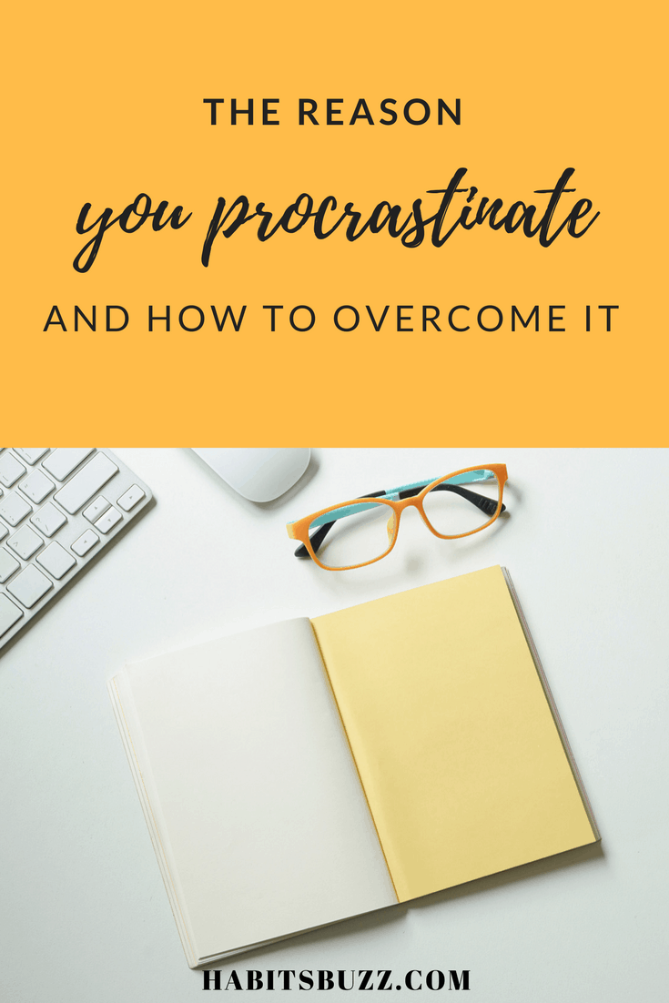 How to overcome procrastination by facing your fears
