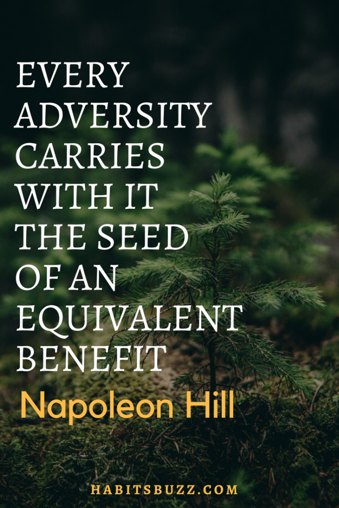 how to overcome procrastination-Napoleon Hill quote