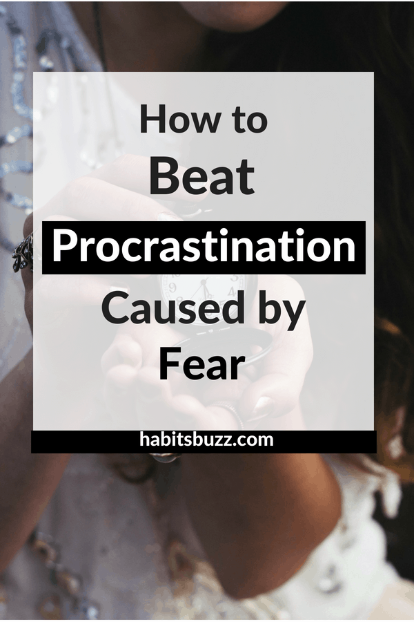 Do you know one of the reasons for procrastination is fear? Here are some tips on how to stop procrastinating when you have fear.