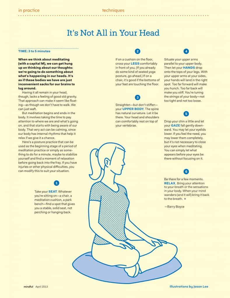 how to start meditating-meditation posture