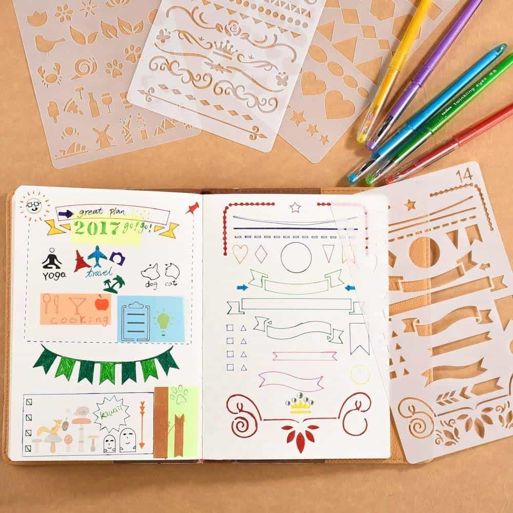 13 cheap bullet journal supplies under $12 #bulletjournal #bulletjournalsupplies