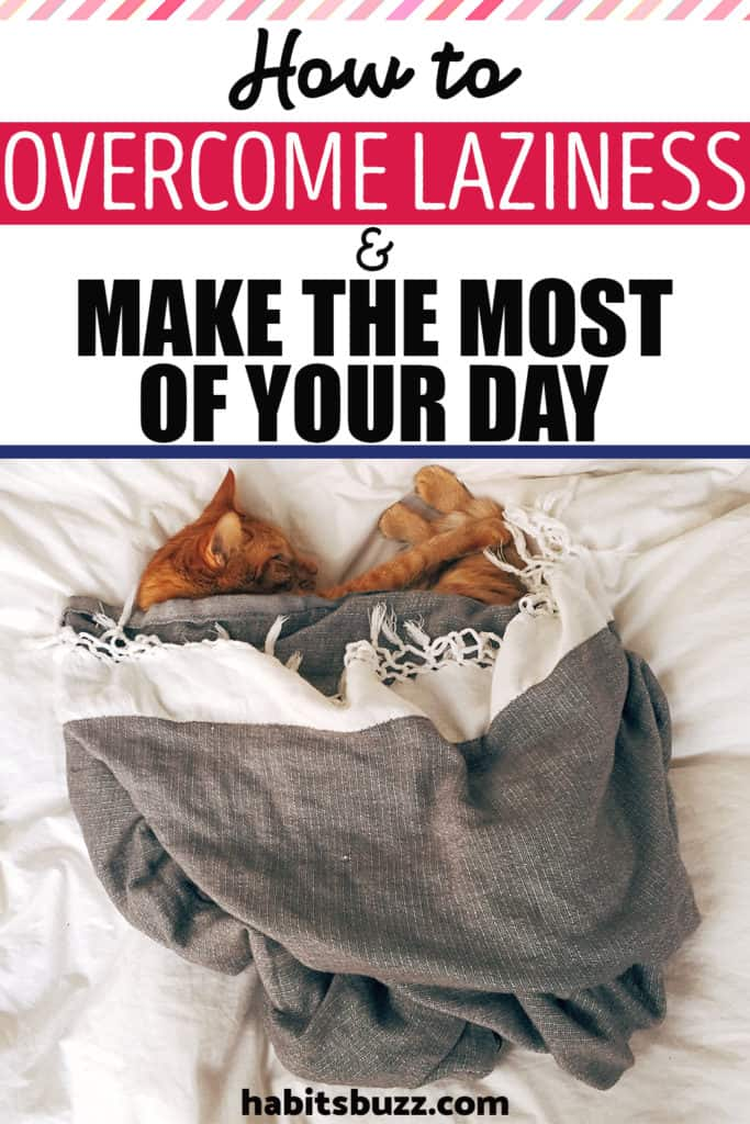Have you ever wondered how productive you could be if you stopped being lazy? Is laziness taking over your career, your ambitions and dreams? Here are some tips on how to overcome laziness and make use of your days in the best possible way. #habits #success #personaldevelopment #overcomelaziness