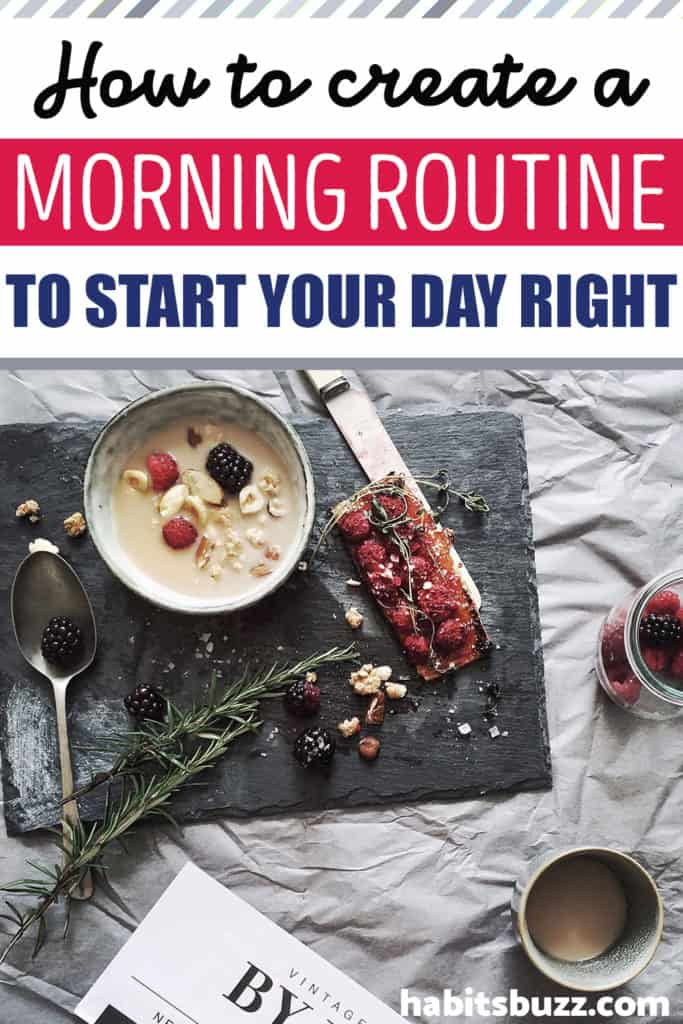 how to start a morning routine