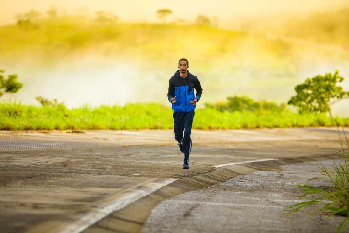 a man running-morning routine ideas of successful people
