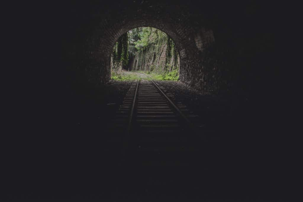 light at the end of tunnel-what to do when you just want to give up on something