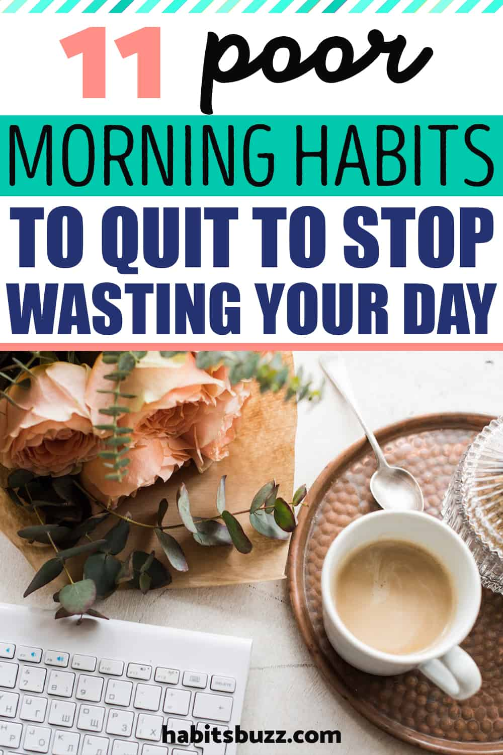 Bad morning habits to quit
