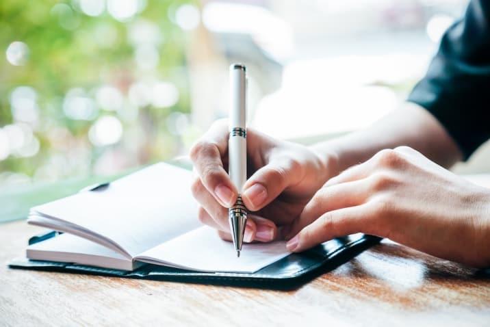 Journaling - how to break bad habits