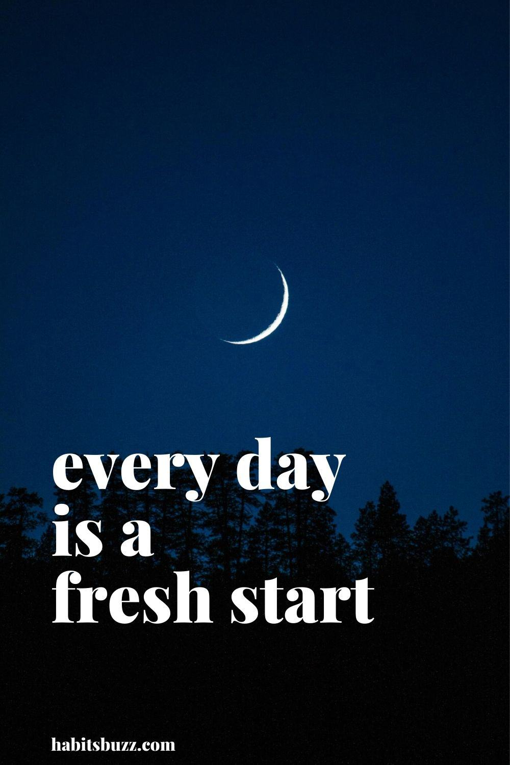 every day is a fresh start - mantras to get through bad days in life