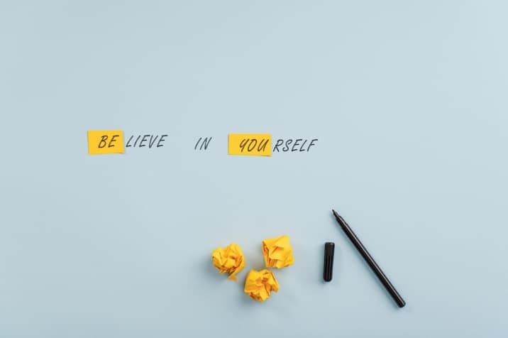believe in yourself - how to start loving yourself more